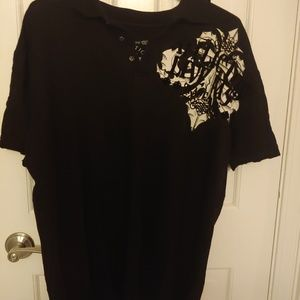 Affliction short sleeve t-shirt for men size XL